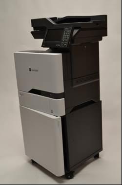 XC4140, XC4150, CX725, CS720, CS725, C4150, 389CS, 479CS, heavy duty printer stand, heavy duty printer cabinet, printer stand with doors, printer stand with wheels, printer cabinet, printer cabinet with doors, printer cabinet with wheels