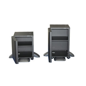 M3110 High Medium - M3150, M3155, M3645, M3655, M3660, M3860, heavy duty copier stand, heavy duty printer cabinet, heavy duty printer stand with doors, metal cabinet, metal copier stand, metal copier cabinet, printer cabinet with wheels, printer stand with wheels