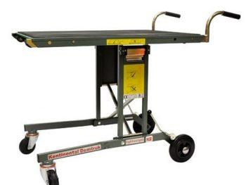 Work place injuries, Salesmaker Carts, 300lb capacity, transport cart, heavy equipment transport, roll off platform