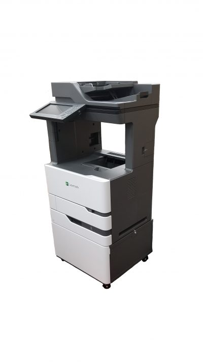 Heavy Duty Printer Stand, Lexmark OEM cabinet, XM7355, XM7370, MX 822ade, MX826ade, Printer stand, printer cabinet, under the desk printer stand, printer stand with door, heavy duty printer stand with wheels,